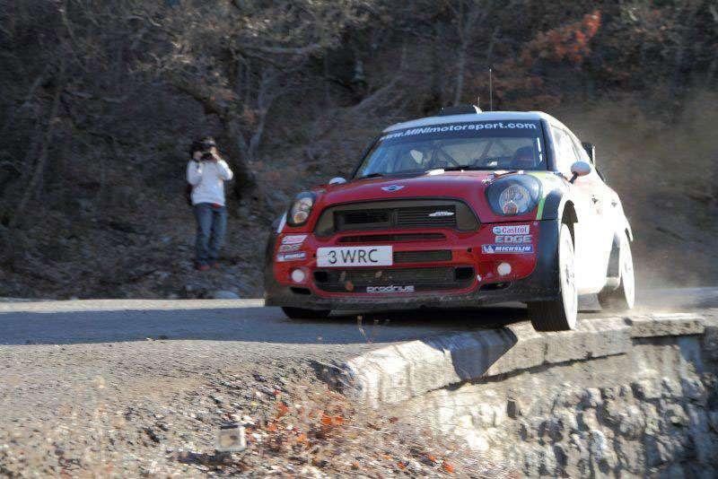 Dani Sordo - MINI Countryman - 2012 Monte Carlo