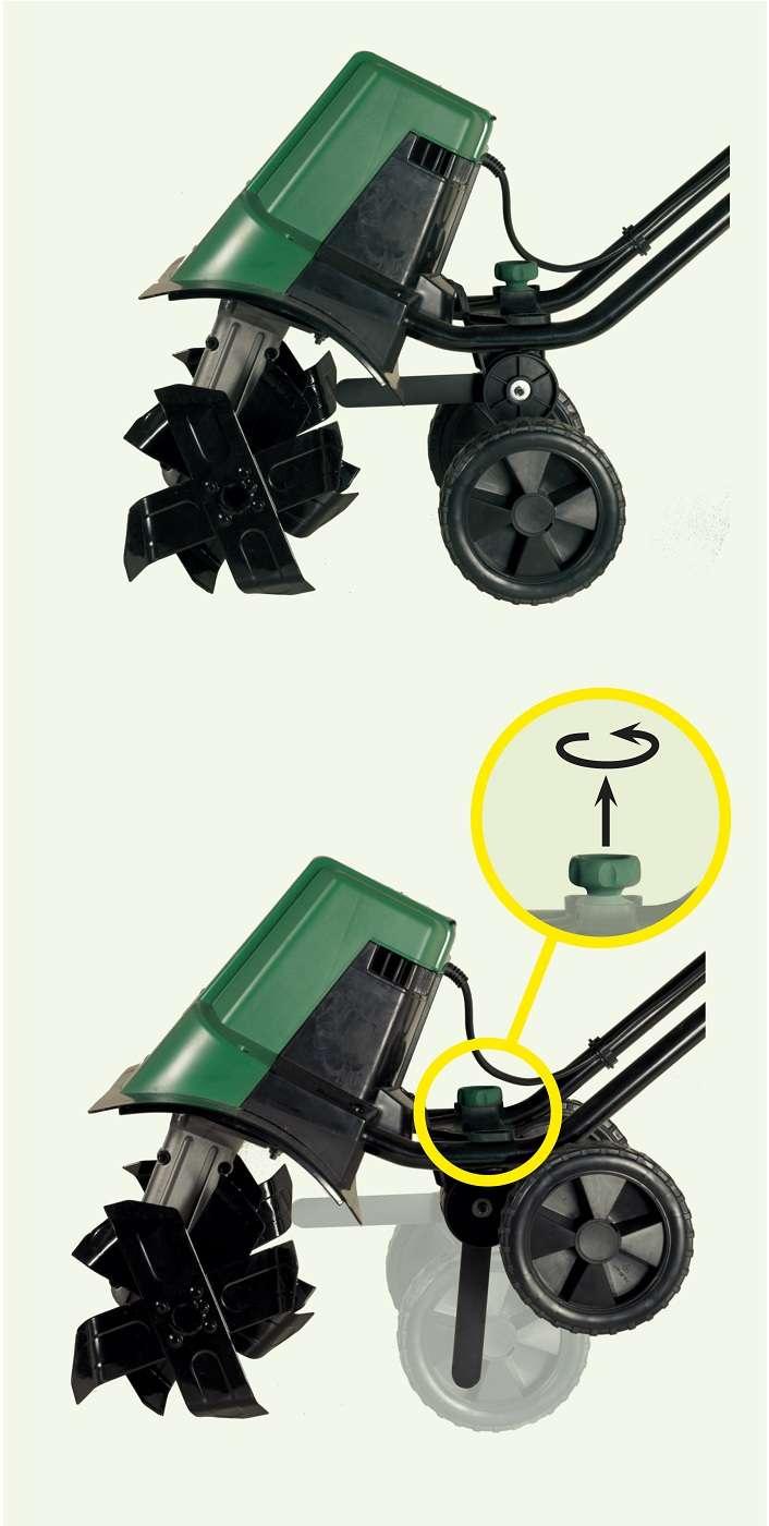 motoculteur motobineuse electrique 1400 w 360 mm. Black Bedroom Furniture Sets. Home Design Ideas